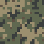 Dual Tex Experimental '70s Digital Camo