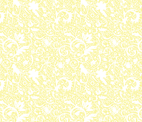 Paisley Texture gold fabric by flyingfish on Spoonflower - custom fabric