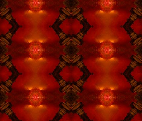 Sunset_of_an_Empire fabric by mandalamandarin on Spoonflower - custom fabric
