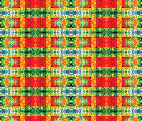 Stained Glass Tribal fabric by flyingfish on Spoonflower - custom fabric