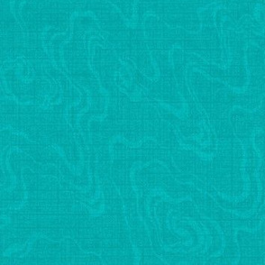 Sea Foam - Turquoise blue and light gray