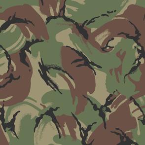 British DPM Temperate Woodland Camo, Alternate Colors