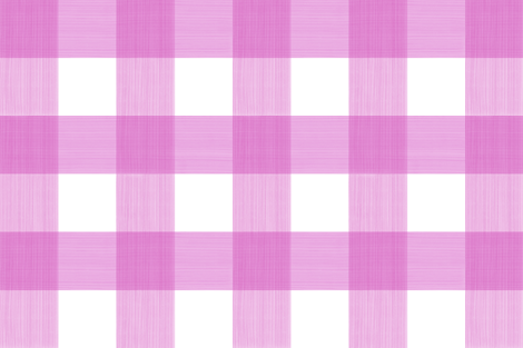 "Magenta 6"" Buffalo Plaid fabric by danika_herrick on Spoonflower - custom fabric"