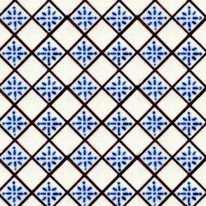 Antique French Tile