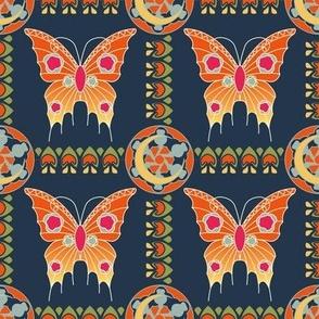 Art Nouveau Butterfly