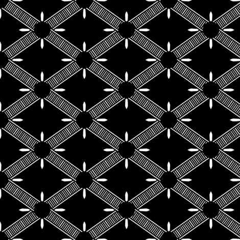 Fancy Diamond Check fabric by pond_ripple on Spoonflower - custom fabric
