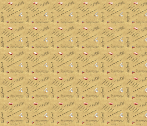 Love Letters From Jane fabric by rima on Spoonflower - custom fabric