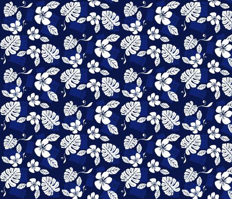 Aloha_Sweetie_2 fabric by morrigoon on Spoonflower - custom fabric