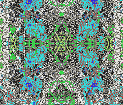 They Called Her Stormy fabric by whimzwhirled on Spoonflower - custom fabric