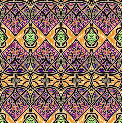 A Member of the Tribe fabric by edsel2084 on Spoonflower - custom fabric