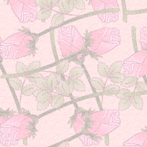 love_conquers_all_roses_only fabric by glimmericks on Spoonflower - custom fabric