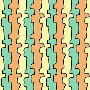 60s_line tri color