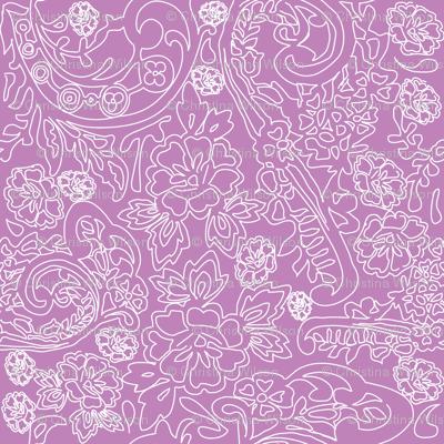 Lace Purple