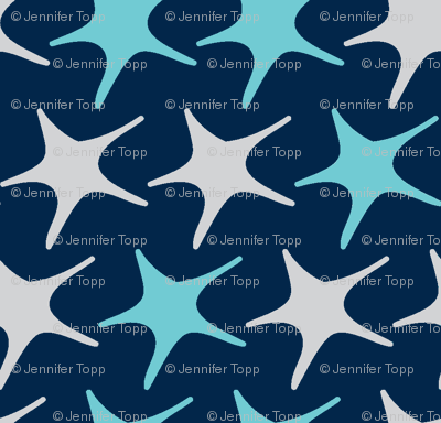 Matisse stars dark blue background