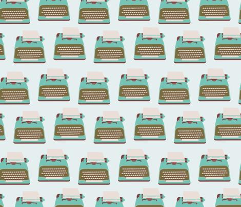 Type Fabric fabric by rachelgresham on Spoonflower - custom fabric