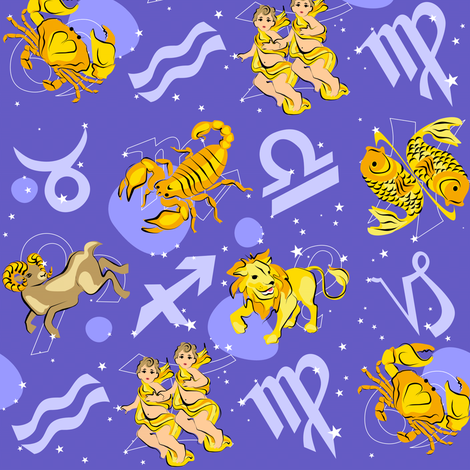 Look up to the sky... fabric by moirarae on Spoonflower - custom fabric