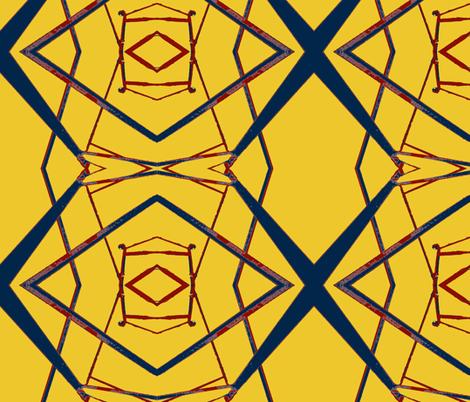 Modrian Slept Here fabric by susaninparis on Spoonflower - custom fabric