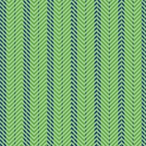 Tribal Green plaid