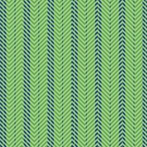 Tribal Green plaid