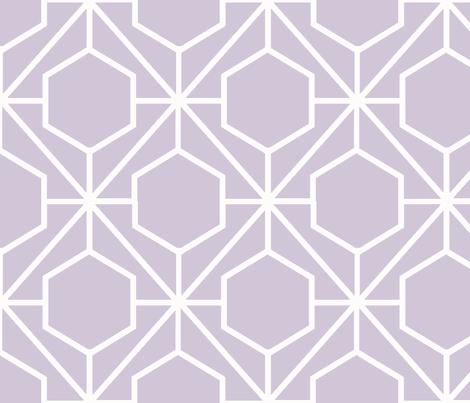 Pretty Web Wisteria Ground fabric by honey&fitz on Spoonflower - custom fabric
