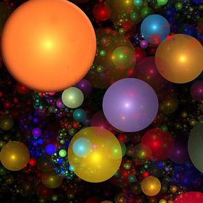 Billions of Fractal Bubbles