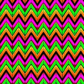 Wild summer zigzag chevrons