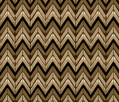 Zigzag chevrons all in brown tones fabric by yomarie on Spoonflower - custom fabric
