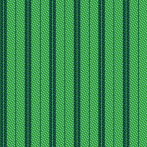 Green stripes honeycomb