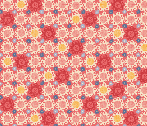 I'm a Leo fabric by ottomanbrim on Spoonflower - custom fabric