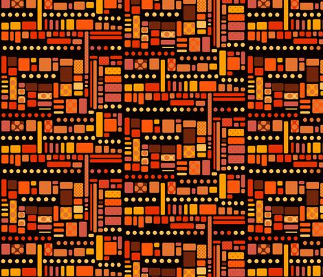 polkadot migration fabric by motyka on Spoonflower - custom fabric