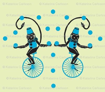 Circus Monkey Blue Hat