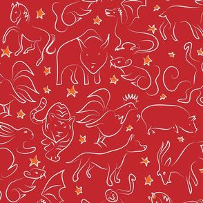 Zodiac zoo