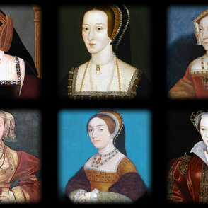 The Six Wives of Henry VIII - Pillows