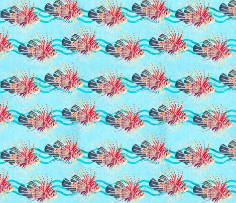 lionfish- fabric by patti_ on Spoonflower - custom fabric