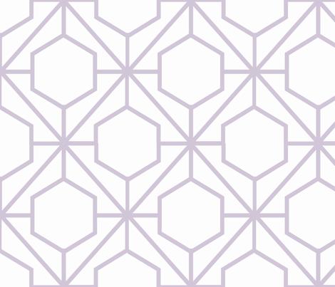 Pretty Web Wisteria fabric by honey&fitz on Spoonflower - custom fabric