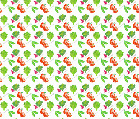 veggies-medley fabric by patti_ on Spoonflower - custom fabric