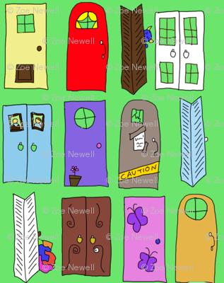 """""""Monsters Inc"""" Doors"""