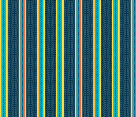 Believe_stripe_navy fabric by mindsthatcreate on Spoonflower - custom fabric