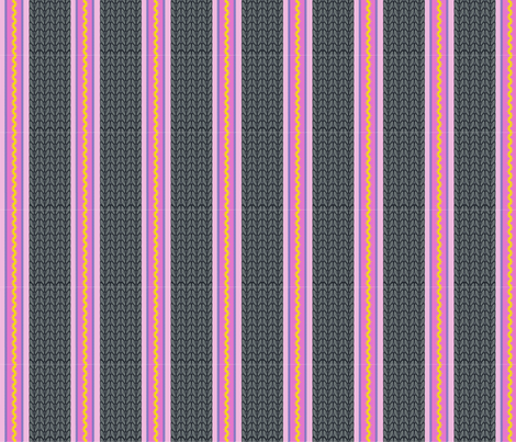 Believe_stripe_grey fabric by mindsthatcreate on Spoonflower - custom fabric