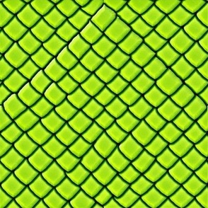Green  Snake Skin Scales
