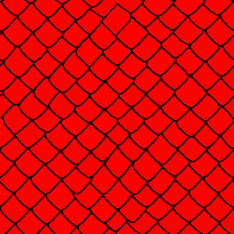 Red Garter Snake Skin Scales fabric by yomarie on Spoonflower - custom fabric