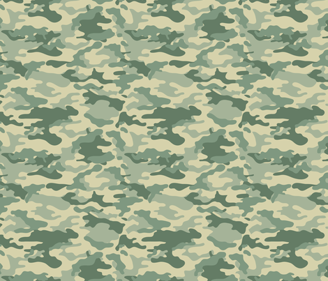 Camouflage commando army Universal seamless pattern fabric by jamesdean on Spoonflower - custom fabric