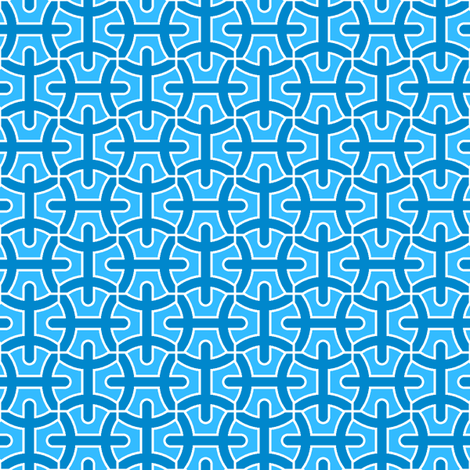 pisces 4 fabric by sef on Spoonflower - custom fabric