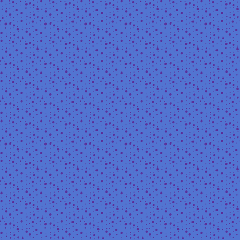 Spatterspot Blue fabric by siya on Spoonflower - custom fabric