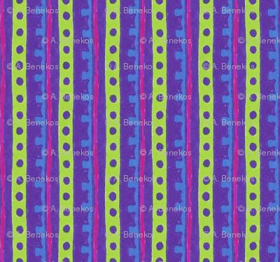 Neon Jenny Stripe