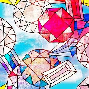 Zodiac Gemstones - Opal - Deep