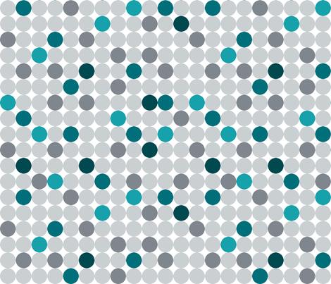 Beachy_Dots fabric by amandapowell8 on Spoonflower - custom fabric
