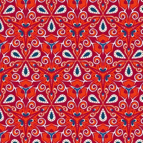 Vaballathus Triate fabric by siya on Spoonflower - custom fabric