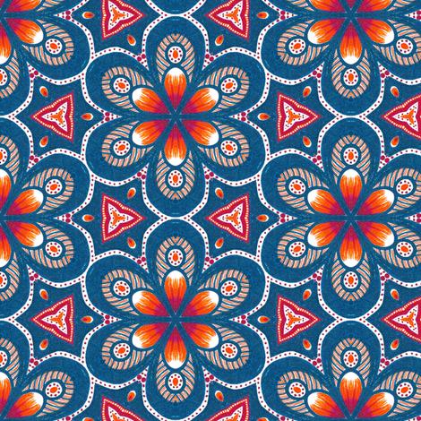 Vaballathus Flowers fabric by siya on Spoonflower - custom fabric