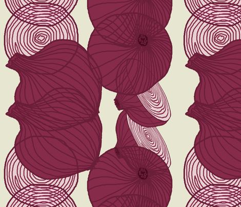 red_onion_stripe fabric by lfntextiles on Spoonflower - custom fabric